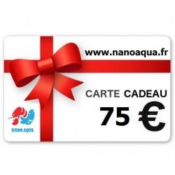 CARTE KDO VALEUR 75 EUROS