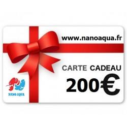 CARTE KDO VALEUR 200 EUROS